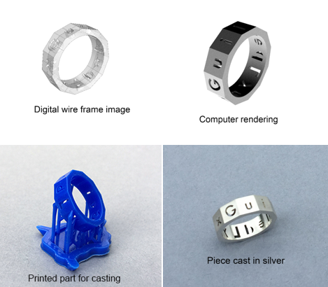 Introduction to Rhino and 3D printing for jewelry Session B with:  Steven Parker